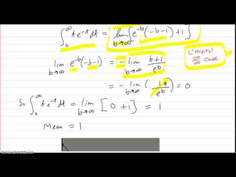 Find the Mean and Median for a probability distribution