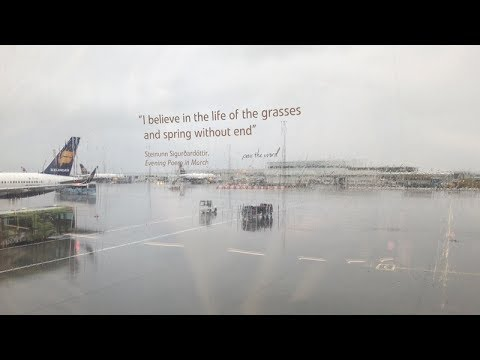 Keflavik International Airport, Iceland