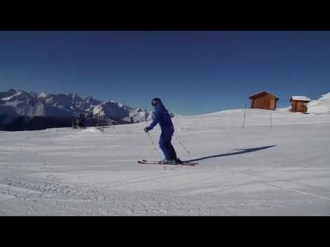 Learn To Ski Parallel Turns - Lifting the Ski Drill