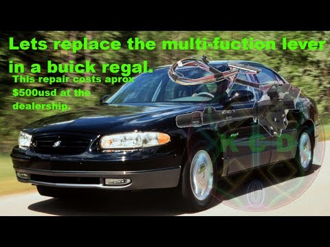 How To Change A Multi Function (turn signal) Lever In A 2000 Buick Regal/Century