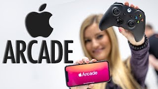 Apple Arcade Preview on iPhone 11!