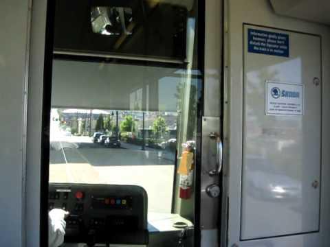 07/21/10 Tacoma Link departs Tacoma Dome Station