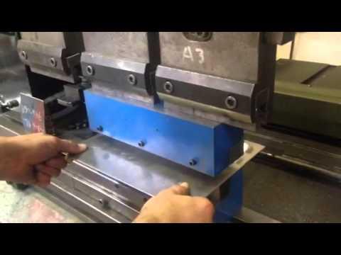 10 inch Louver Tool: Setup