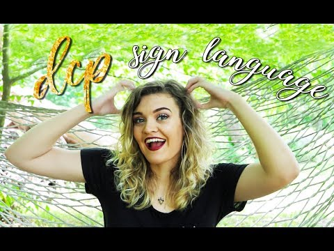 basic sign language to use at the dcp!    fall 2018