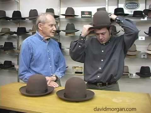 Measure your head for a hat:  David Morgan Presents Akubra