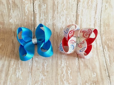 Twisted Boutique Bow - Wrap around method