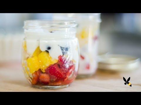 Fruit Salad Parfait Recipe