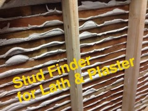 Quick Tip #1 - Finding studs in lath & plaster walls