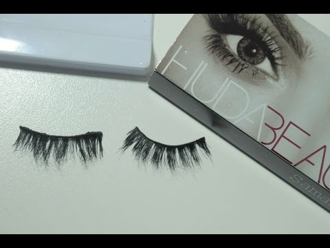 How to Repair False Lashes