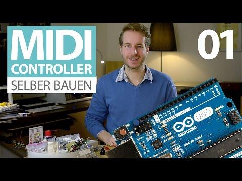 MIDI-Controller selber bauen (E01) (Tutorial deutsch, für Arduino-Anfänger)