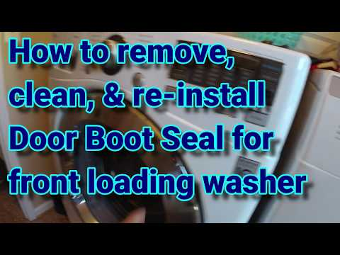 Mold in Front Load Washer Gasket - How to remove & clean