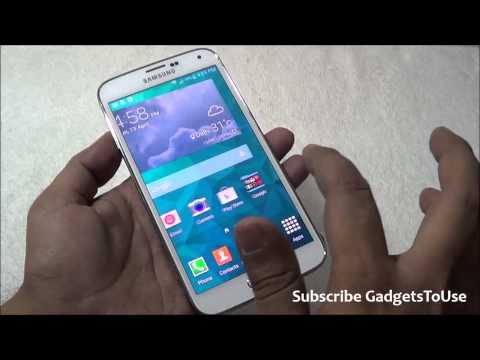 Change Home Screen Animation on Samsung Galaxy S5