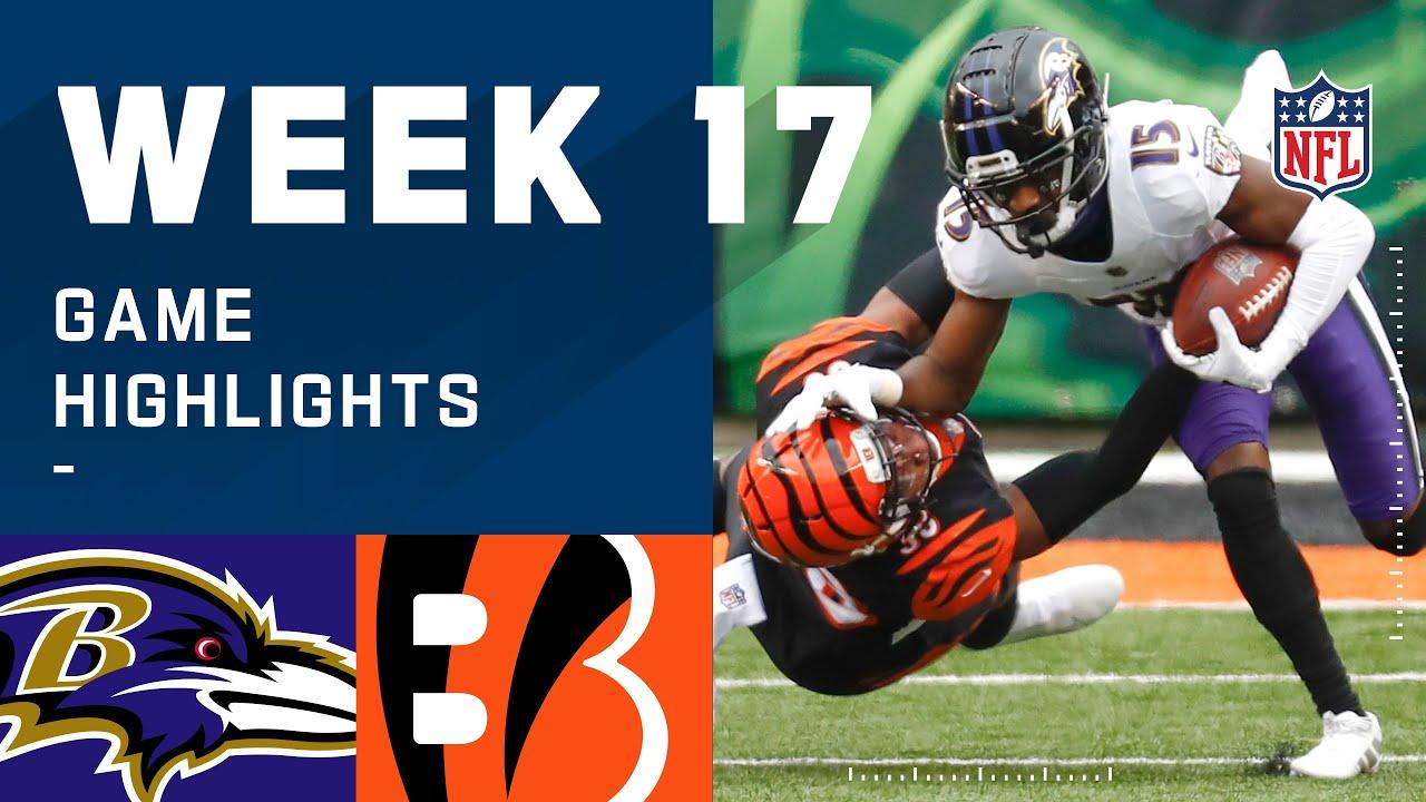 Ravens vs. Bengals Week 17 Highlights   NFL 2020
