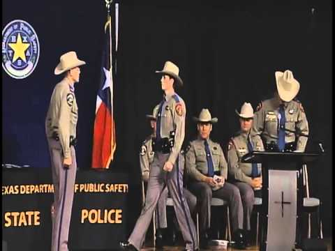Texas Department of Public Safety 153rd Trooper Training Class Graduation Ceremony (Aug. 14, 2015)