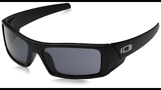 10499bfd72d7e Unboxing and review sunglasses Oakley Gascan Matte Black Videos ...