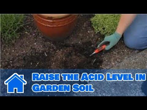 Gardening Basics : How to Raise the Acid Level in Garden Soil