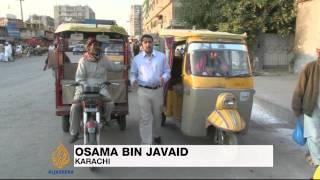 Rickshaws still common in Karachi
