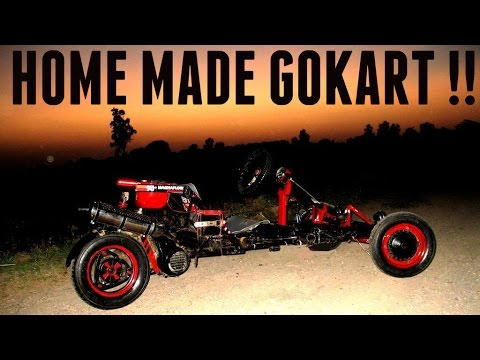 HOW TO MAKE YOUR OWN GOKART !! | DIY PROJECT | INDIA |