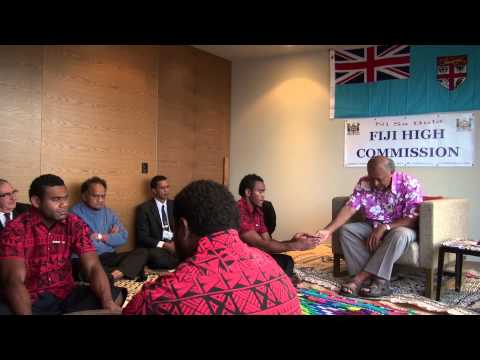 Fijian President HE Ratu Epeli Nailatikau meets Melbourne Fijian community