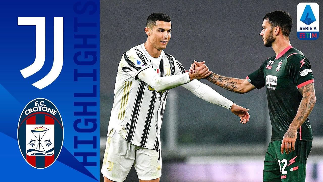 Juventus 3-0 Crotone | Ronaldo Hits a Brace as Juve Too Strong for Crotone! | Serie A TIM