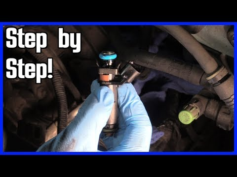 How to Replace a Fuel Injector Ford F150 2004-2008