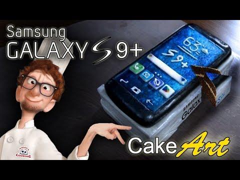 Samsung Galaxy S9+ - Cake Art