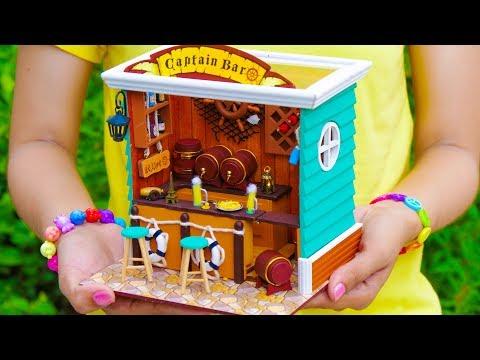 DIY Miniature Bar Doll House