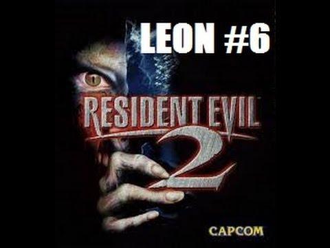 Resident Evil 2 LEON Part 6 G virus Embryo