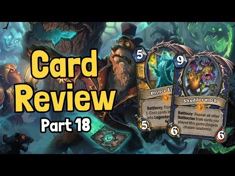 Final Review of 45 New Cards - Witchwood Card Review Part 18 - Hearthstone