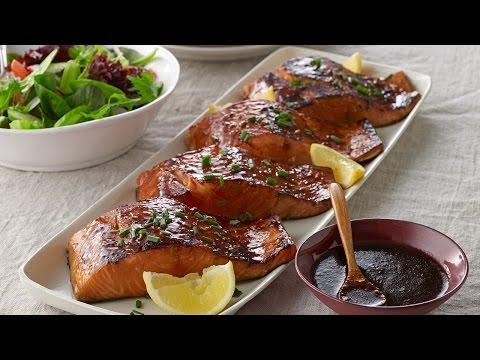 Sweet & Sticky BBQ Salmon