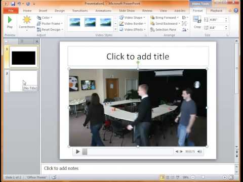 step by step guide on how to convert MP4 to PowerPoint Presentation