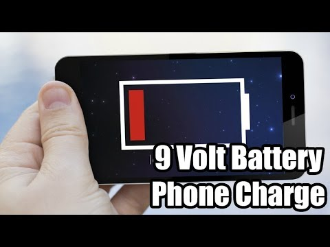 📱 9 Volt Battery Phone Charge (Dr. NOOB's Lab)