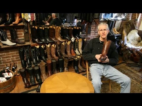 Western Boot Fitting Guide : Cowboy Boots