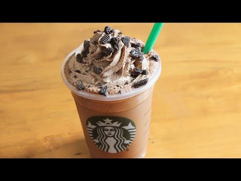 Starbucks Mocha Cookie Crumble Frappuccino | SweetTreats