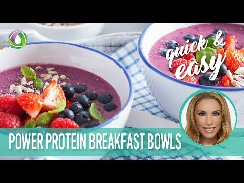Smoothie Bowls - Protein Treats By Nutracelle