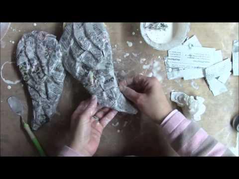 Paper Mache Wings Tutorial