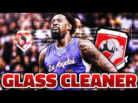 How to get Glass Cleaner Grand Badge! *UPDATED* (Fastest Way) (After Patch 12) (NBA 2K17)