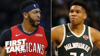 Stephen A. rants: Anthony Davis is better than The Greek Freak | First Take