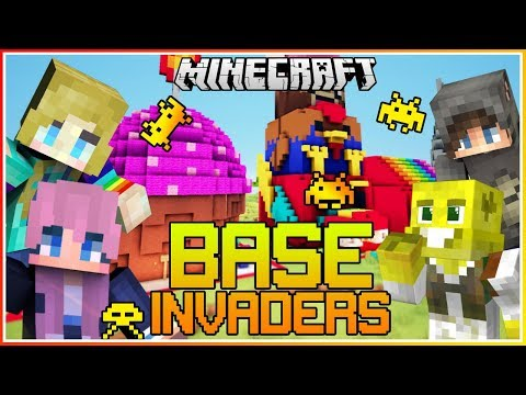 My Best Invading YET!!   Minecraft Base Invaders