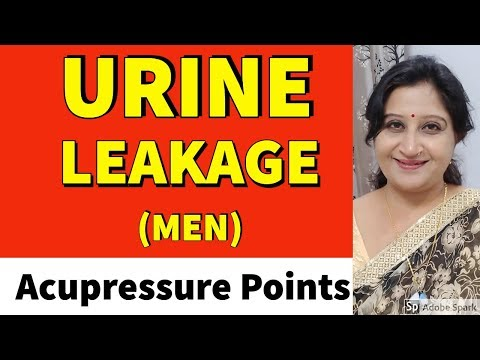 How to cure Bladder Control Problems in Male (Urinary Incontinence) Home Remedies Acupressure Hindi