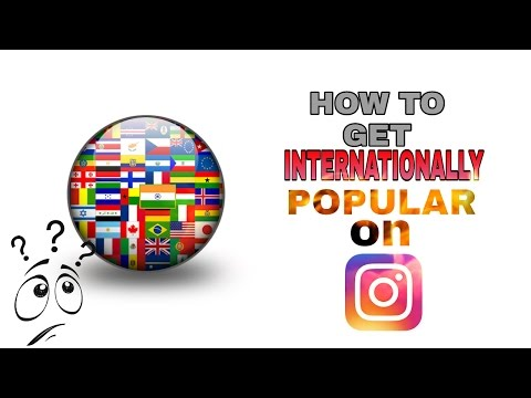 how to  get internationally popular on Instagram (hindi)