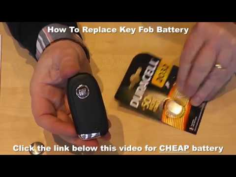 How To Replace Key Fob Battery - Car Key Battery Replacement Video