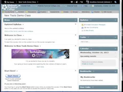 D2L V10.2 Delete and Restore Dropbox Folders Demo