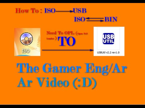 PS2 TO USB Games (ISO TO USB & BIN TO ISO)