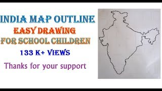 How To Draw Map Of India Step By Step Tube10x Net