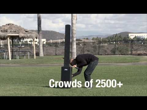 Anchor Audio Beacon 8000 Portable Line Array Speaker System Overview   Full Compass