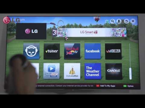 LG Smart TV - Premium Content