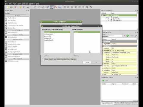 Python and Qt4 Designer Part#1 - Hello World