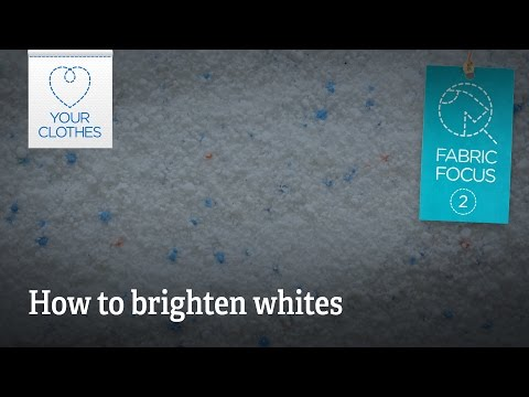 Fabric focus: how to brighten your whites
