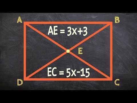 Determine the length of a diagonal of a rectangle